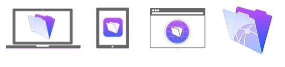 Варианты развертывания и использования приложений FileMaker